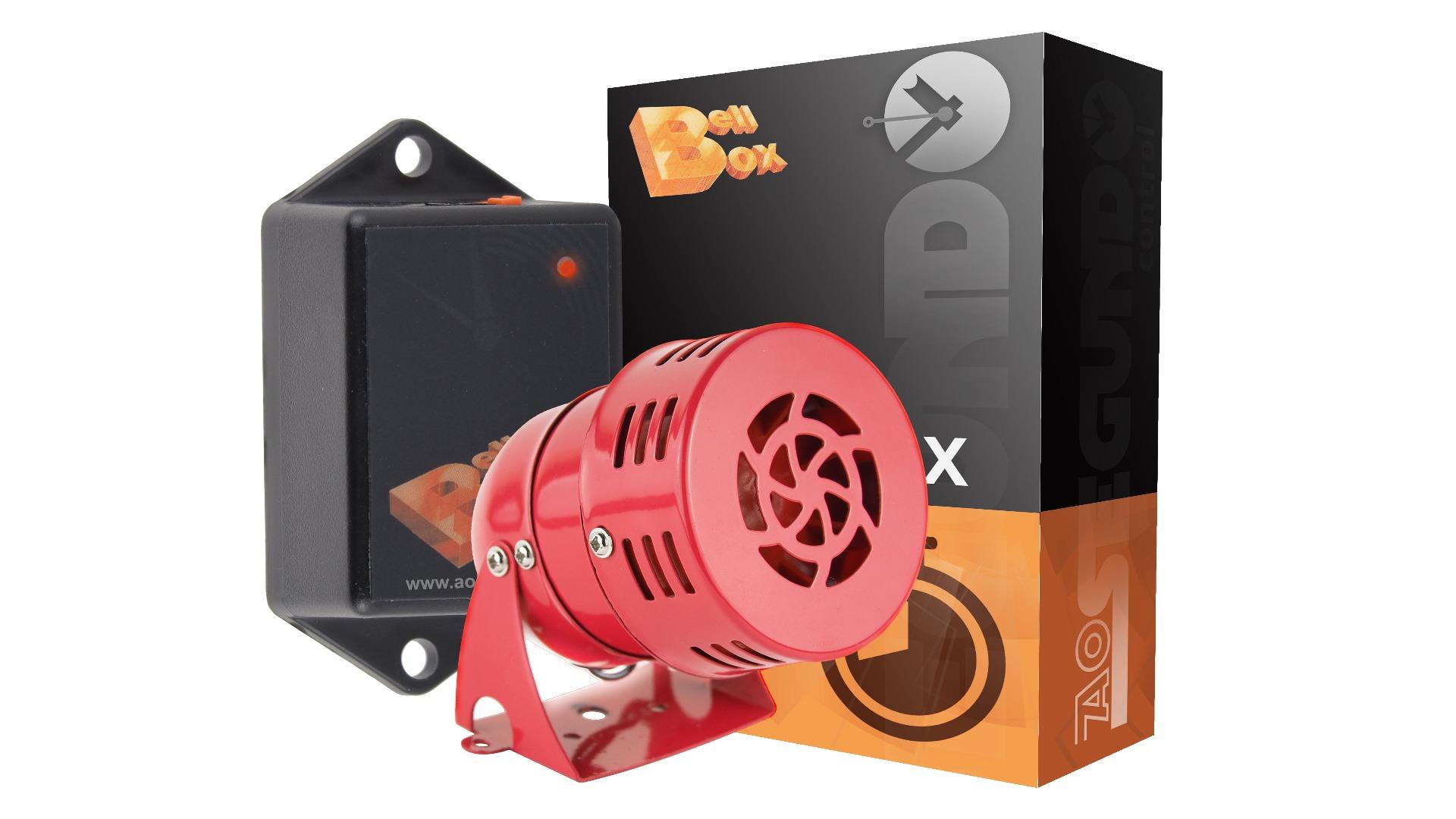 Pack Bell Box + Sirene + Software