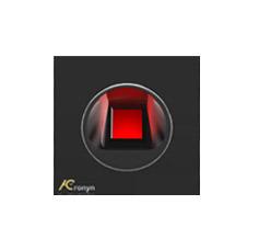 Leitor Biométrico Externo Encastrável